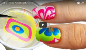 Come Fare la Water Marble Nail Art